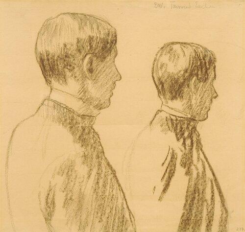 Portrett av maleren Thorvald Erichsen