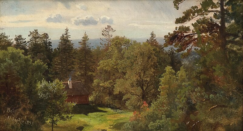 Fra Berg, studie 1853