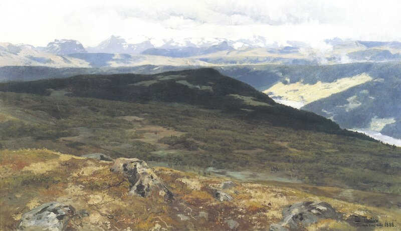 På Ålfjell i Vestre Slidre 1888