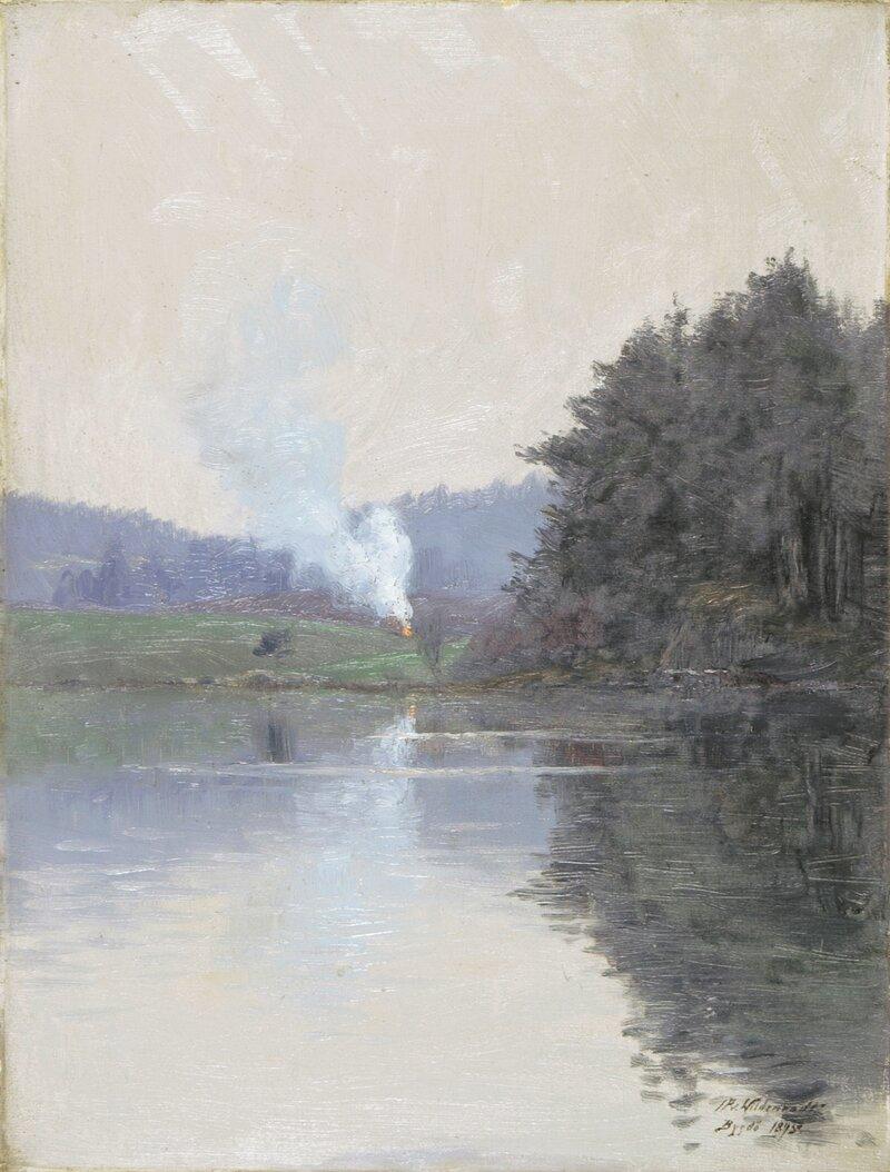 Fra Bygdøy 1895