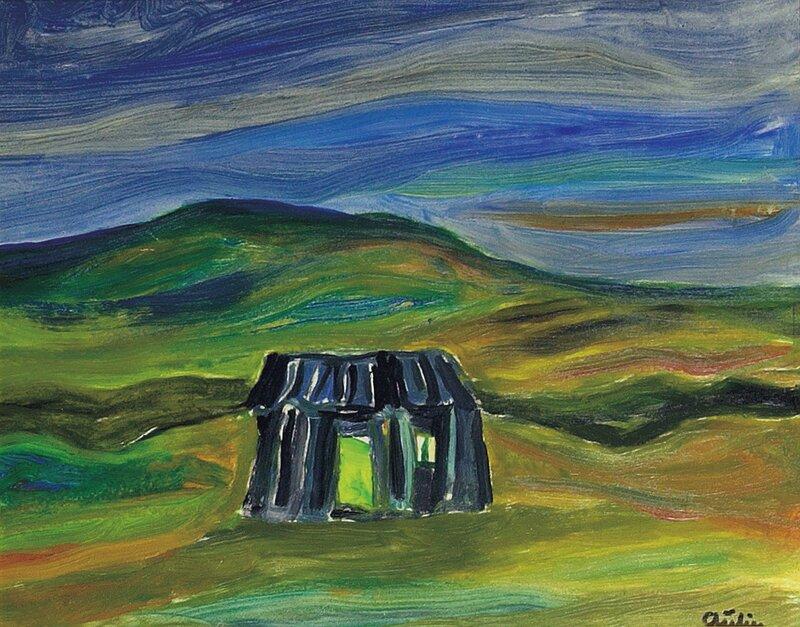 Hus i landskap