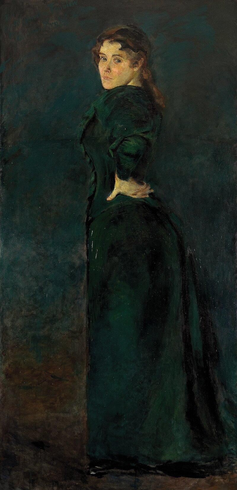 Portrett av Alexandra Thaulow