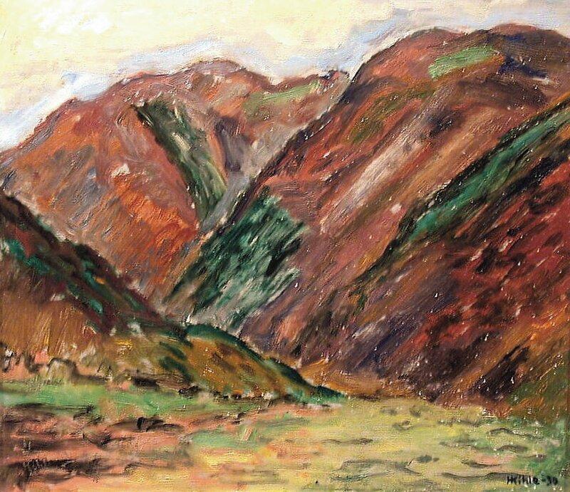 Fra Flatdal Telemark 1930
