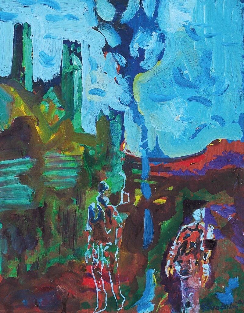 Komposisjon med figurer 2001