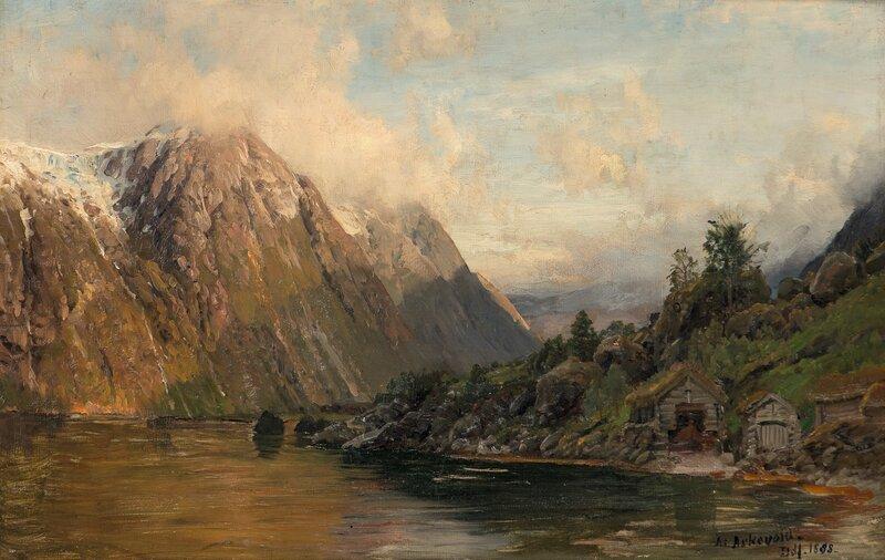 Fjordlandskap 1888