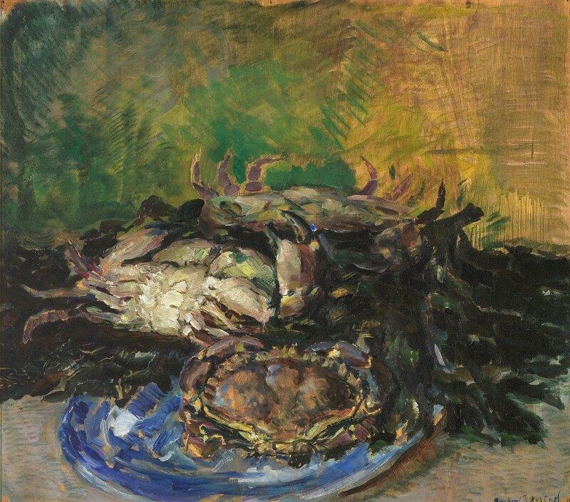 Stilleben med krabber 1928