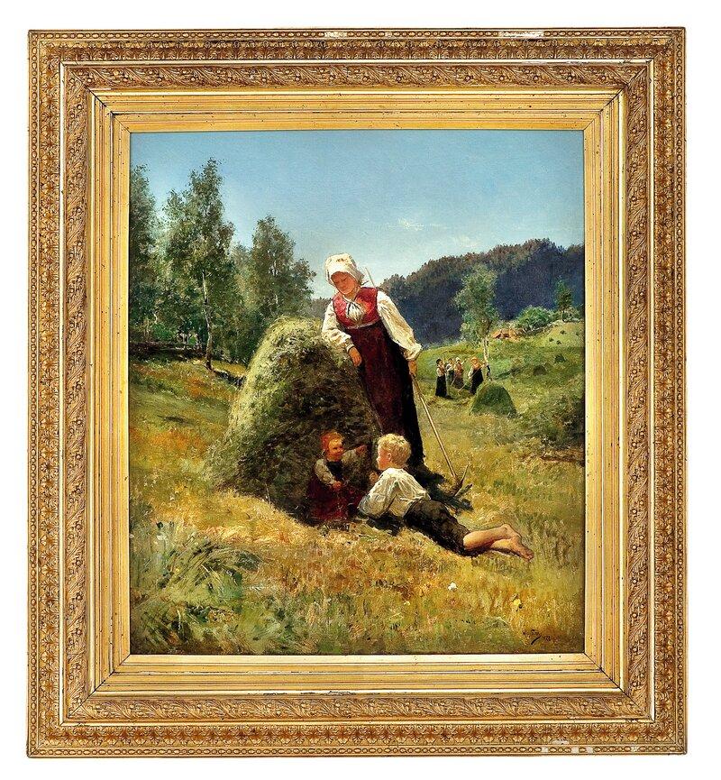 Hvile i slåtten 1877