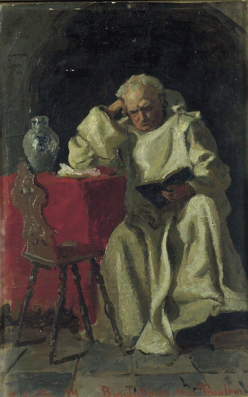 En munk 1874