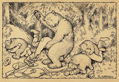 En uheldig bjørnejakt