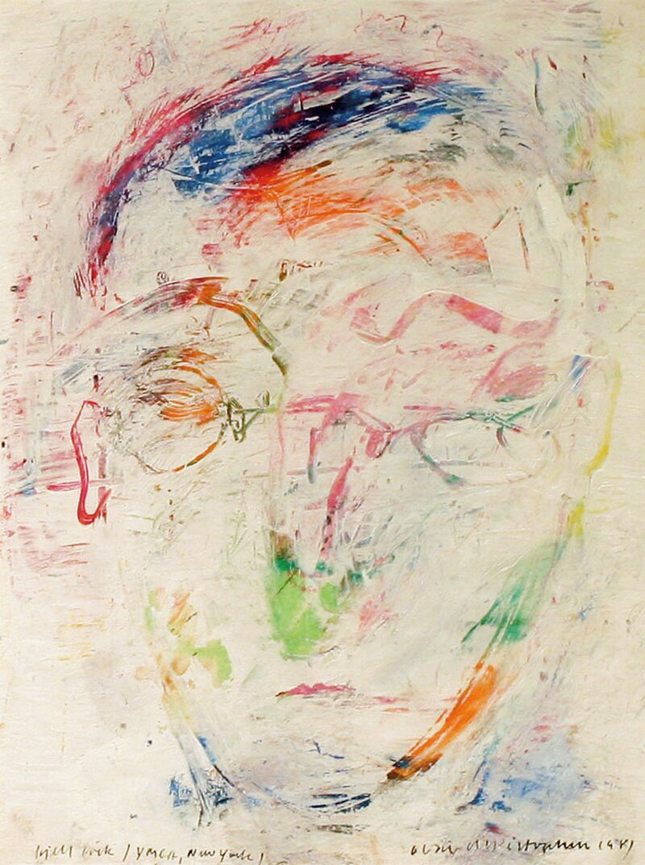 Portrett av maleren Kjell Erik Killi Olsen 1981