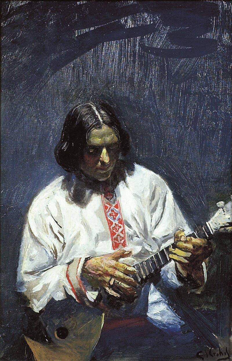 Ivan Wolkof med sin balalaika