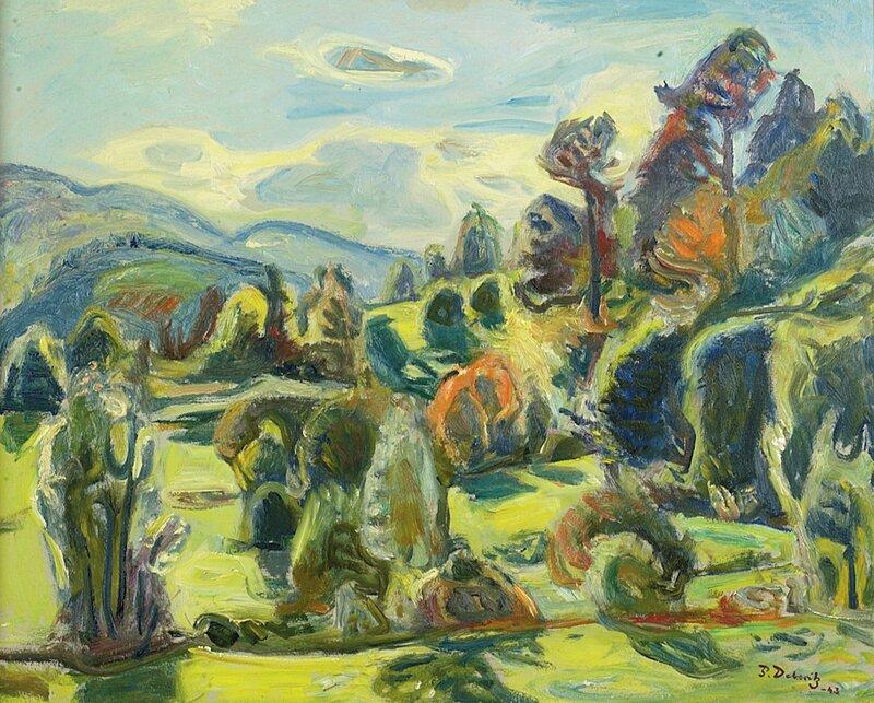Landskap 1943
