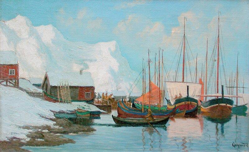 Skuter i havn