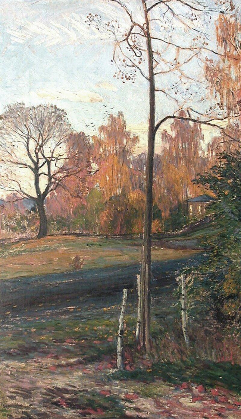 Høstlandskap 1896
