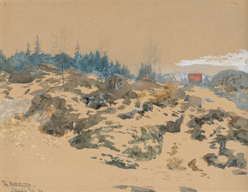 Fra Skåtøy 1890
