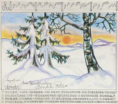 Julen med gleder, December 1946