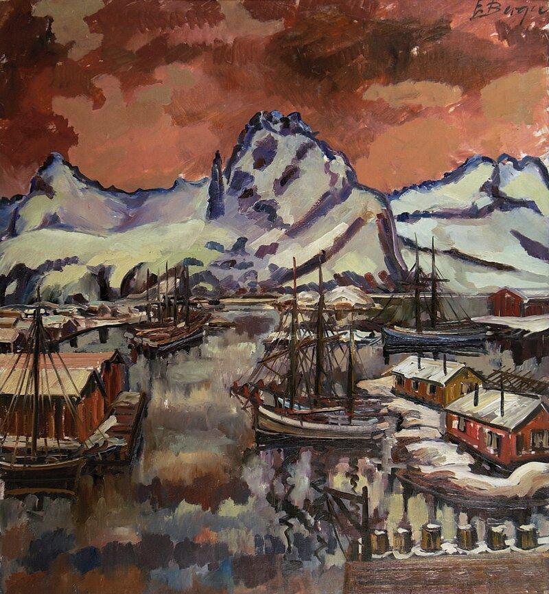 Fra Svolvær havn