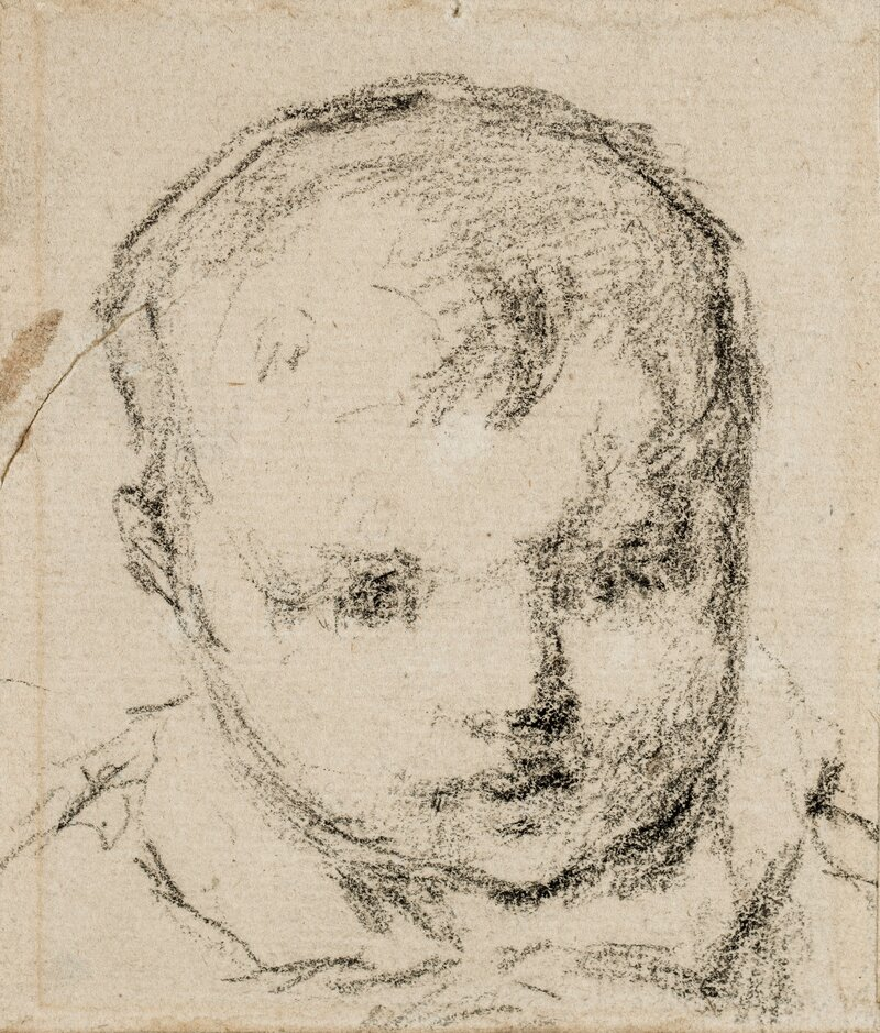 Clovis, kunstnerens sønn