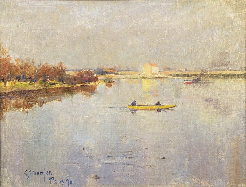 Fra Seinen 1890