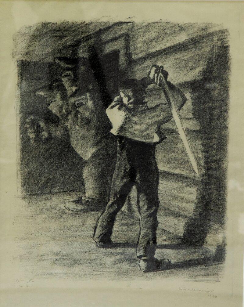 Askeladden kills the Troll 1930