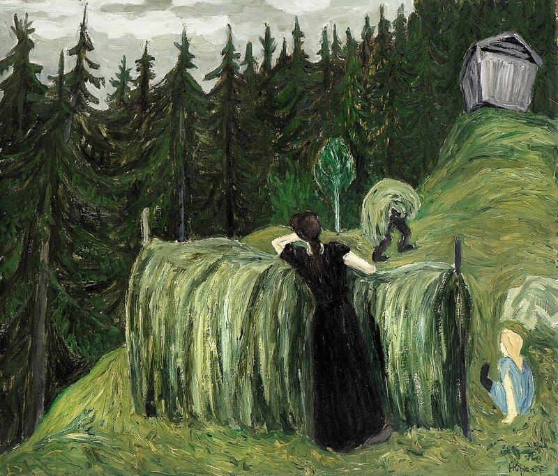 Haying season Hjartdal