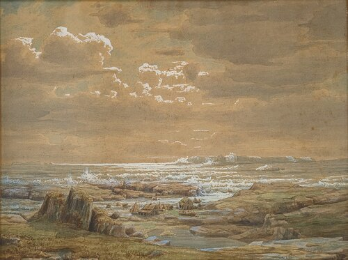 Kystlandskap Fra Ryfylke 1853