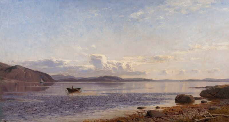 Coastal Landscape with a Rower 1893