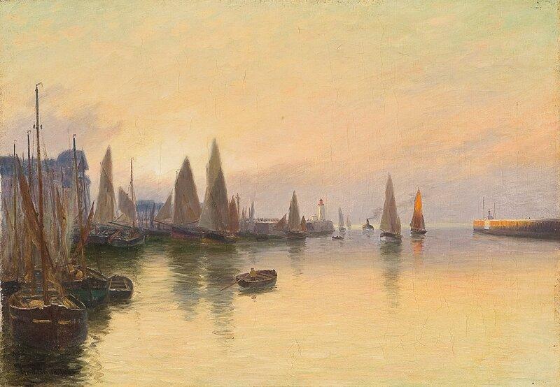 Havneparti 1905