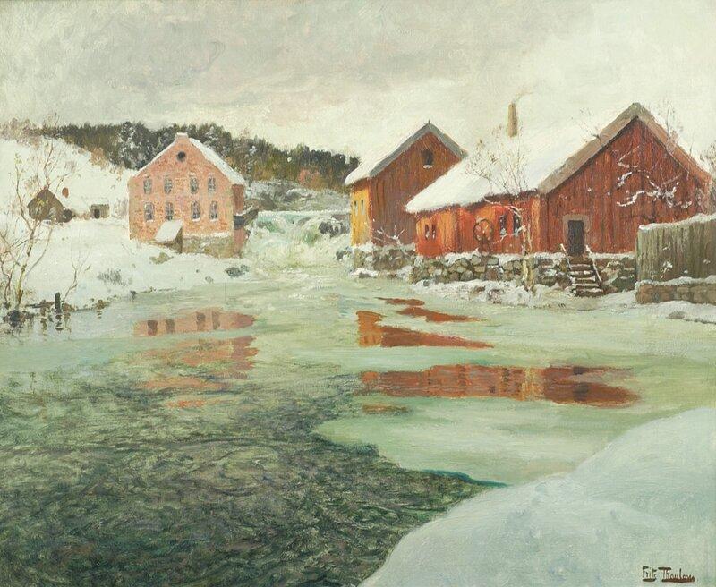 Vintersol i Norge