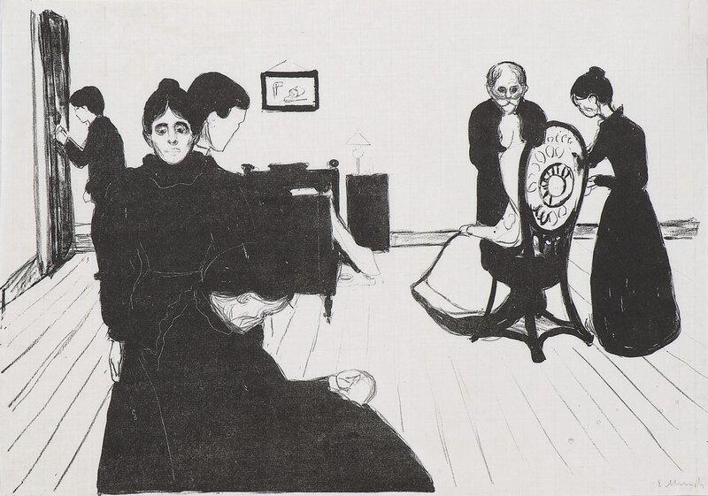 Døden i sykeværelset