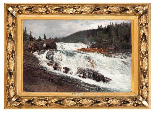 Hylandsfossen, Vinje, Telemark 1893