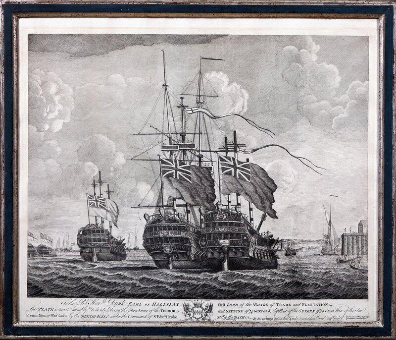 Til jarlen av Halifax 1751