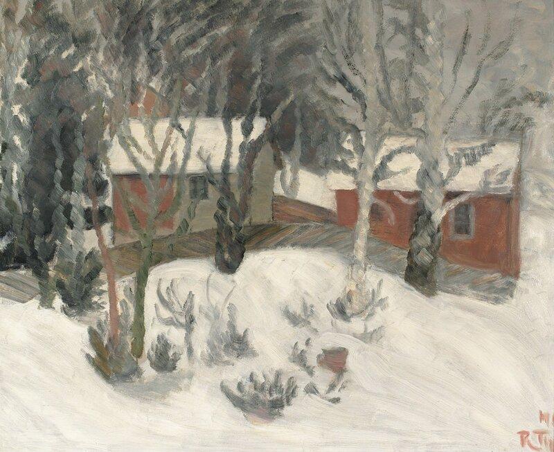 Vinter på Hadeland 1940