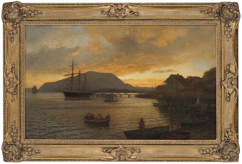 Sommernatt ved Drøbak 1898