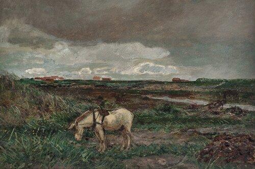 Ruskevær, Orre. Skisse 1897