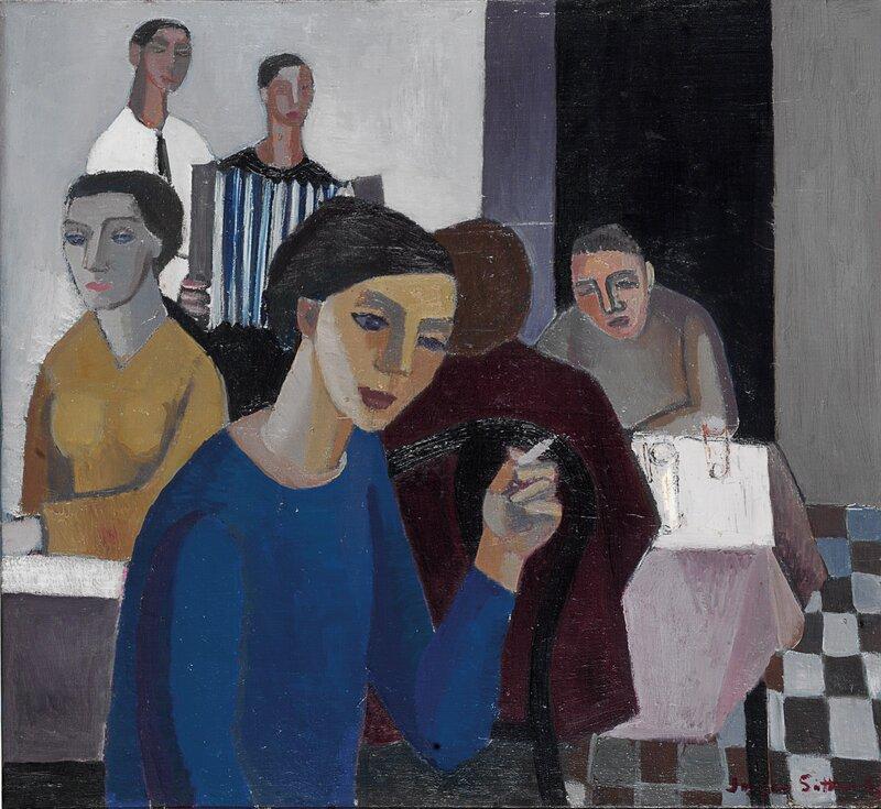 Cafescene 1952
