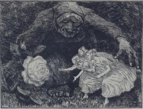 Trollkjerring og tre prinsesser