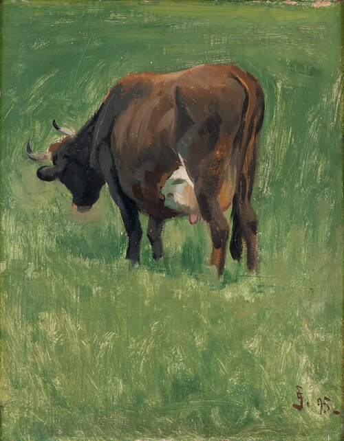 Study of a Cow 1895