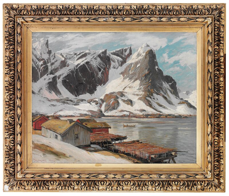 Fra Reine Lofoten 1902