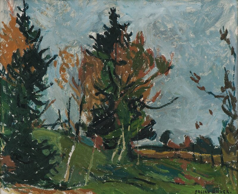 Landscape with Woodland