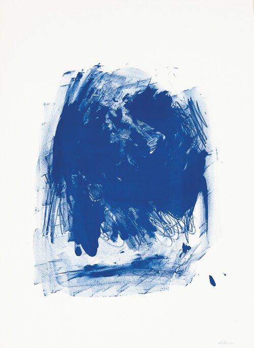 Komposisjon i blått