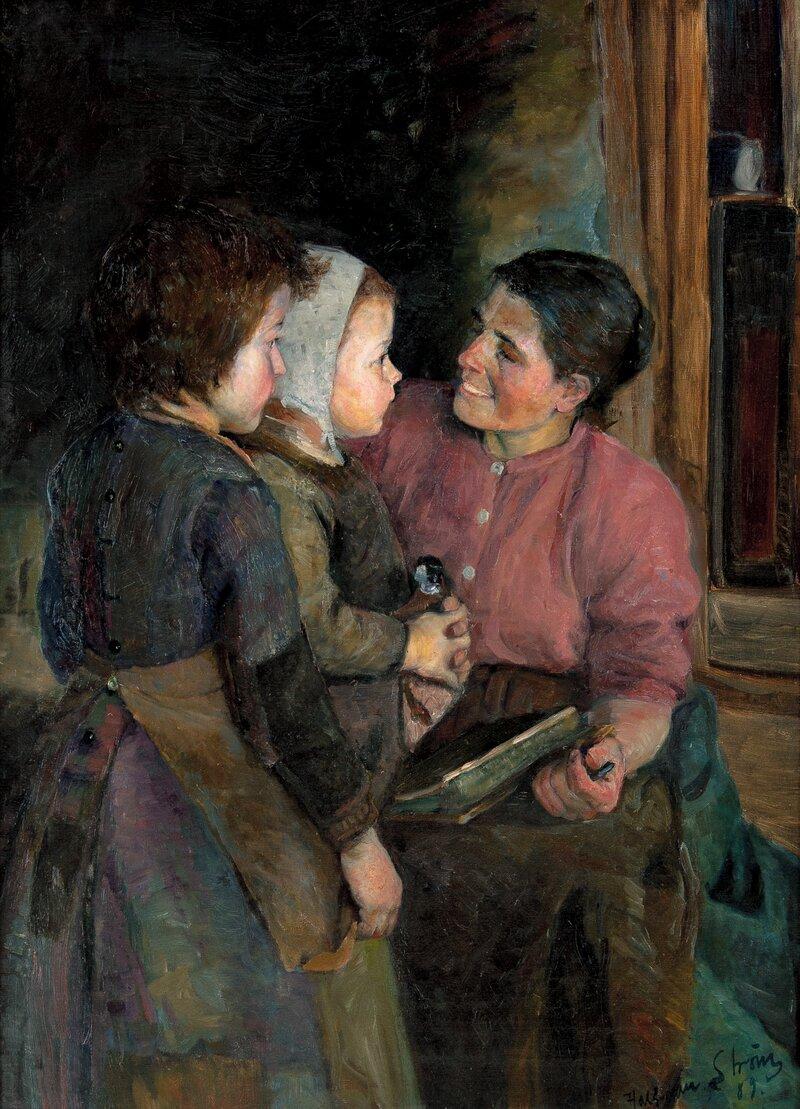 Hos mor 1889