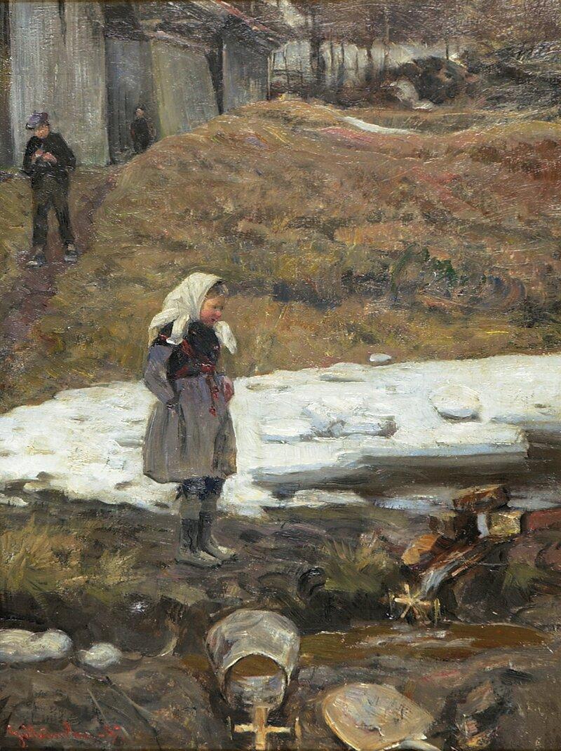 Vårvind Sandvika 1887