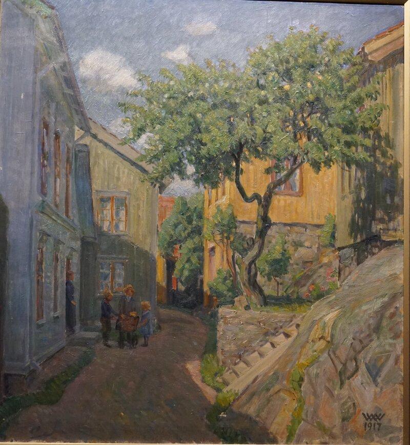 Småbygate, Kragerø 1917