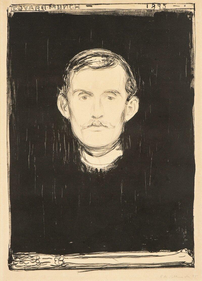 Selvportrett 1895