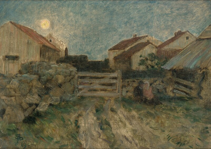 Fra Sele, Jæren 1889