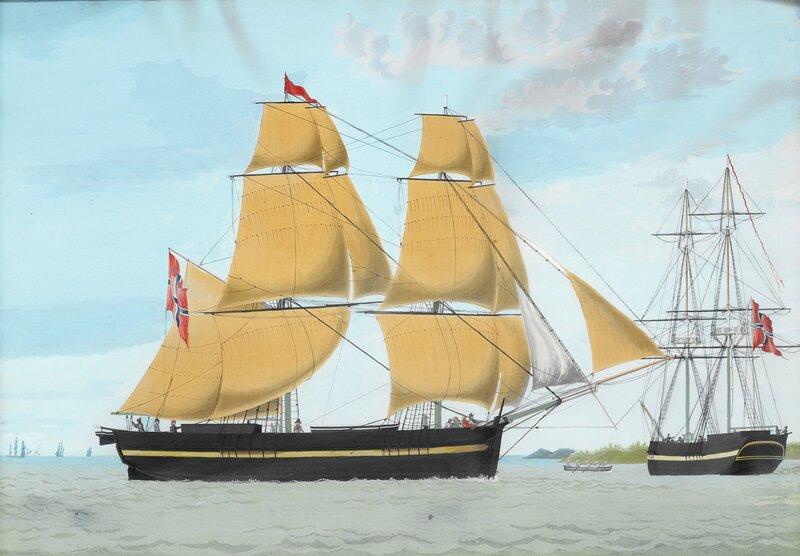 Briggen Natten av Tønsberg 1839