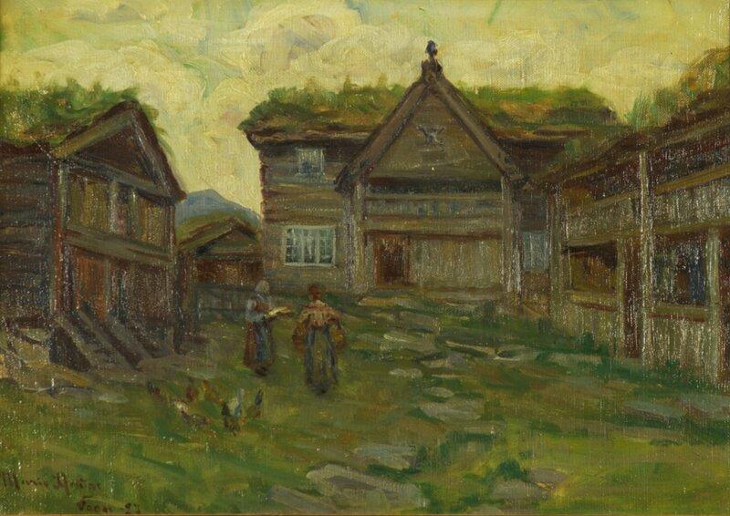 Fra Vågå 1927