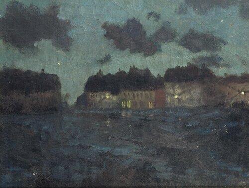 Natt. Nord-Frankrike