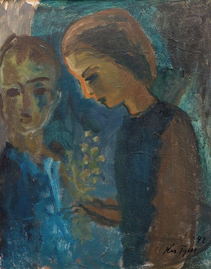 Pike og gutt 1942